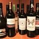 種類豊富にワインを取り揃えております♪記念日デートに