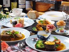 フランス懐石 懐鮮食堂のコース写真