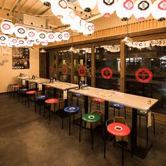 【20名様用テーブル席】各種ご宴会にお気軽に使用できるお席を多数ご用意しております。