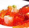 【Seafood】大人気!ぷりぷり食感が最高★Hamakin特製の醤油漬けいくらがたっぷり♪一度で二度うまい!北海道生春巻き(880円)