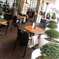 ◆SNS映え◆まるでニューヨークの街角にあるカフェのよう。おしゃれなテラス席は人気!アフタヌーンティー専門店に変わりました!