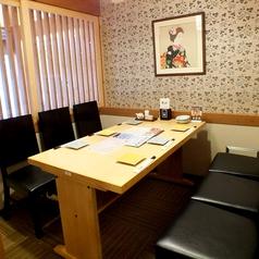 限定2個!テーブル個室は4名と6名あり。