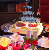 ウエディングパーティや2次会のご利用もお任せ下さい。ウェディングケーキを始め、プロジェクターや各種音響設備もご用意できます。結婚式2次会にご利用頂いております。こだわりの空間で美味しいパーティーを!貸切は最大50名様迄!結婚式やお誕生会、同窓会など様々なパーティーシーンに!!サク飲み・飯にも是非ご利用下さい