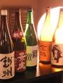 日本酒一例 【越州】【越乃景虎】【緑川】【金鶴】【雪男】など