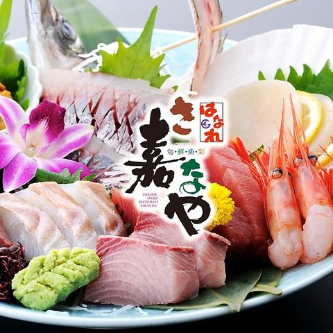 和の空間の中で、旬の鮮魚が味わえる極上空間。