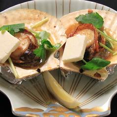 活帆立バター焼き 2枚