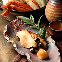 新潟の旬の食材を活かした美味の数々