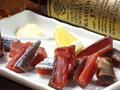料理メニュー写真燻製 鮭とば