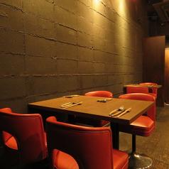 ワイワイ盛り上がるテーブル席は各種宴会・女子会などいろいろなシーン使いでご利用いただいております。