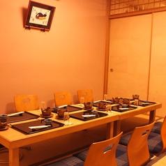 各種宴会、慶事・法事など、親しい方々や御親族で落ち着いてご利用いただける個室です。