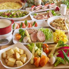 肉バル&野菜バル にくベジ 新宿駅前店のコース写真