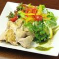 料理メニュー写真鶏のコンフィサラダ仕立て