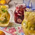 料理メニュー写真フルーツポンチ3種