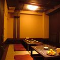 16名迄OKの掘りごたつ個室。会社宴会の多く利用されています!