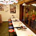 【博多の屋台を再現!!】元気で活気ある接客と博多名物が味わえる居酒屋『博多劇場』!!もつ鍋・餃子・博多串焼きなどとご一緒にお酒を楽しみながら博多の雰囲気をたっぷりご堪能ください。