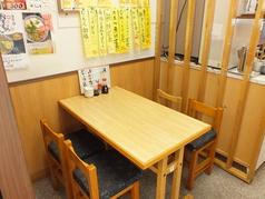 2席×7テーブル