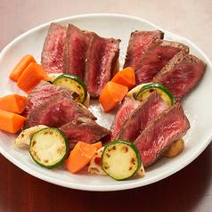 福島牛のステーキ