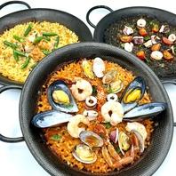 バレンシア地方発祥の伝統的なお米料理【パエリア】