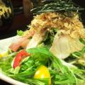 料理メニュー写真中華海鮮サラダ