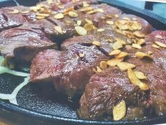 料理メニュー写真トップブレードステーキ1000g[1キロ]