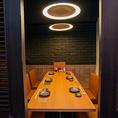 デートや接待に最適です!落ち着いた和空間で新鮮な馬肉料理をお楽しみください。