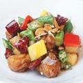 料理メニュー写真豚肉と季節野菜のトウチ炒め