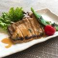 料理メニュー写真豚ロースの西京味噌漬け焼き