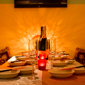 6名様用テーブル席★女子会やママ会、合コンなどの少人数飲み会におすすめです♪~個室居酒屋 ビアホール 宴会 飲み会 女子会 合コン 記念日 誕生日 デート 3時間 無制限 飲み放題 食べ放題なら~隠れ個室肉バル ビストロ レガート-新宿店~