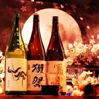 本格日本酒充実♪