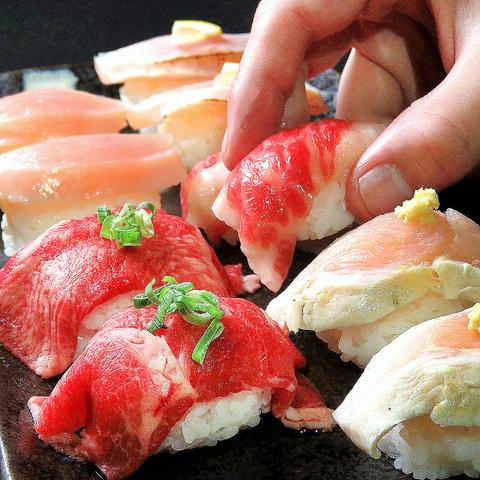 完全個室居酒屋 宮崎を食べ尽くす! 肉寿司 食べ放題 ひむか農場 宮崎橘通西店