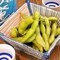 料理メニュー写真枝豆・ゆで落花生など日替わりでご用意☆
