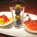 料理メニュー写真オイルタパス三種盛り(お好きなチョイスで)