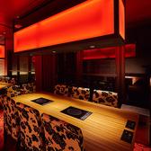 6名様用のお席は会社飲みなどのご宴会に最適です。