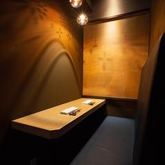 ゆったりとくつろげる個室は2名・4名・6名様用のお部屋がございます。