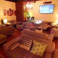 【カラオケ付きVIP個室】フカフカなソファーとカラオケ付の完全個室です。15名様~受付可能!