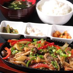 韓国料理専門店 さらんばんのおすすめランチ3