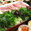 料理メニュー写真☆サムギョプサルサムパ(2人前から)☆ ※お肉もお野菜も食べ放題(90分)