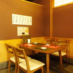 木のぬくもりあふれる店内は、のれんで半個室にすることも可能★ただし、席数に限りがございます♪【柏 鍋 日本酒 飲み放題 焼酎】