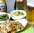 料理メニュー写真生ビールセット【17時~】