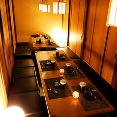 団体様でのご宴会に最適な高級感溢れる上質な和空間です。落ち着きあるひと時をお過ごし頂ける大人の個室空間。立川/居酒屋/宴会
