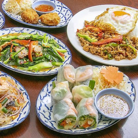 トムヤムラーメンで人気のティーヌンから本格タイ料理が気軽に楽しめるお店登場♪