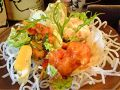 料理メニュー写真エビチリ・エビマヨ 二点盛