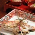 【鯛の尾頭付き お食い初め膳 ¥3000でご用意賜ります。】前日までの要予約