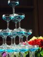 シャンパンタワーで乾杯すれば盛り上げること間違いなし!!シャンパンタワーはもちろん新郎新婦とゲストを盛り上げる特典多数。お祝いごとの日には贅沢に参りましょう!心をこめてお祝いさせて頂きます☆ご予約時にご相談下さいませ!こだわりの空間で美味しいパーティーを。結婚式やお誕生会、同窓会など様々な宴会シーンに!!
