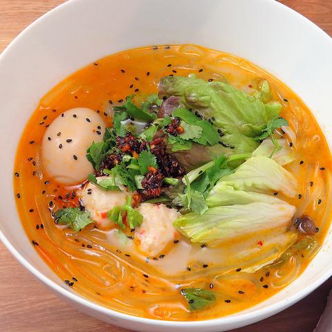 麻辣湯 スープ春雨