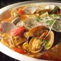 料理メニュー写真海鮮完熟トマト鍋