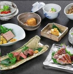和食フレンチと日本酒専門 TABIのコース写真