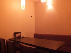 増設した6名用個室。様々なシーンにどうぞ