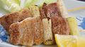 料理メニュー写真豚バラ串焼(1本)