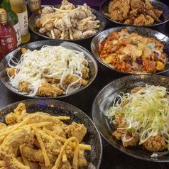 ジュギョンヤダック 昼耕夜鶏のコース写真